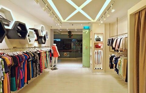 Narrow Store Idea Interior Desain Interior Desain Ritel