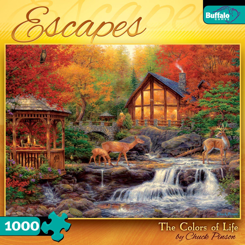 Escapes Colors Of Life Puzzle Warehouse Dream Puzzles