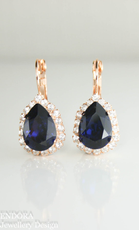 Bridal Earrings Jewelry Wedding Swarovski