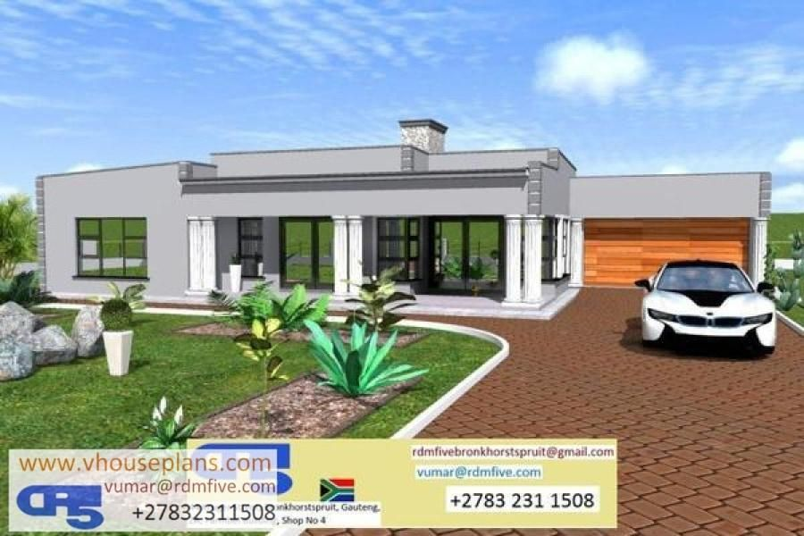 Rdm5 House Plan No W2446 My House Plans Flat Roof House Beautiful House Plans