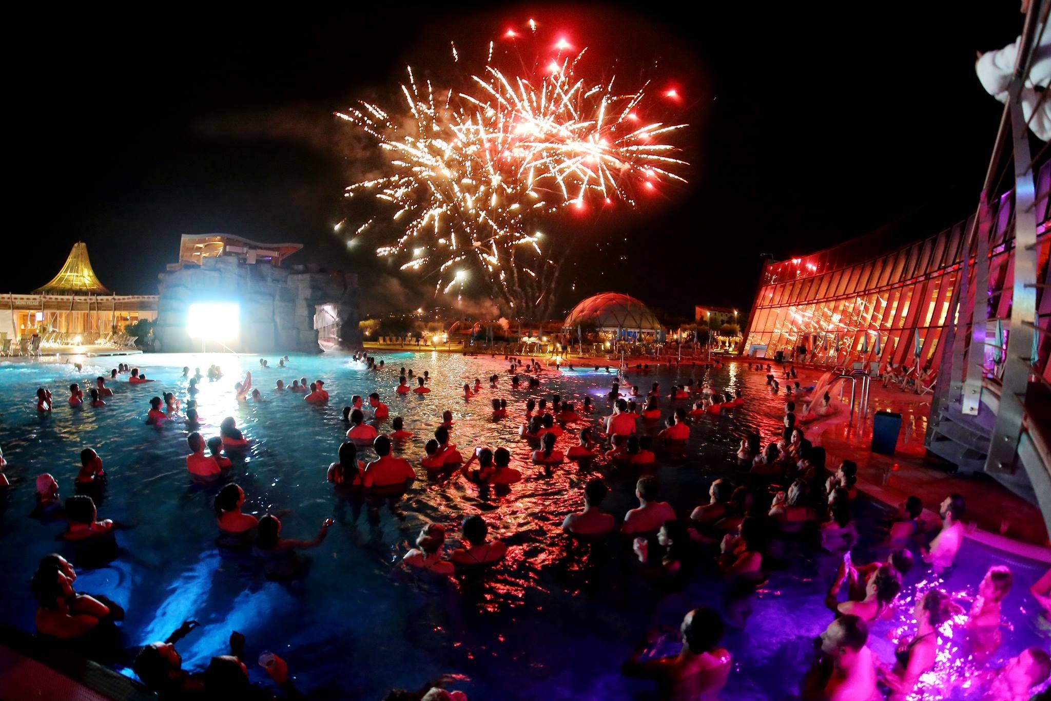 21 June Aquardens Pescantina Pool Party Fireworks Dj Set Miami Night Evento Miami Verona