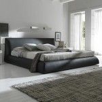 $1855.00  Rossetto Furniture - Coco Brown Queen Bed - 4990007053BQB