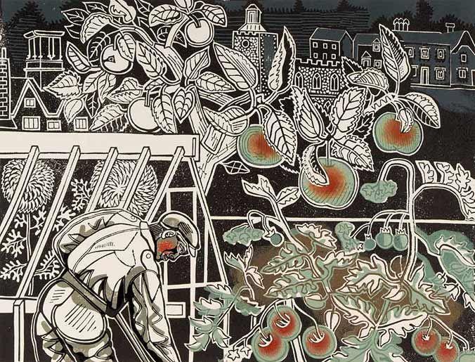 eric ravilious artist-英國畫家,設計師,書籍插畫師和木雕。(1903年-1942年)(第二輯)。。。 - ☆平平.淡淡.也是真☆  - ☆☆milk 平平。淡淡。也是真 ☆☆