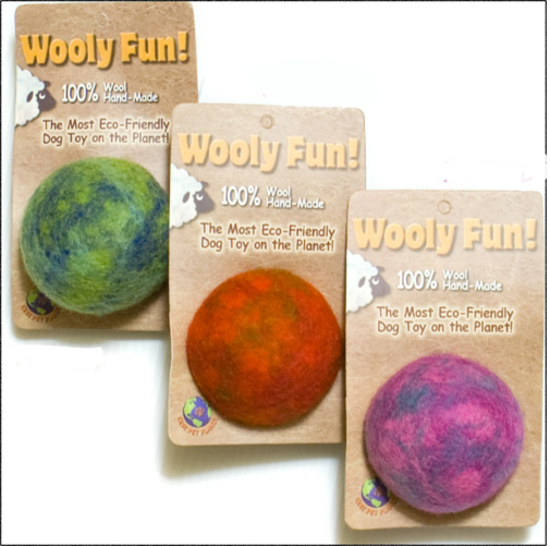 One Pet Wool Ball New Items Pets, Dog toys, Dog