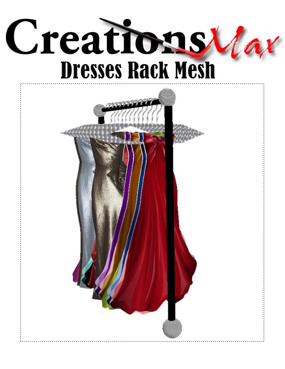 imvu dress  mesh by caryR.deviantart.com on @DeviantArt