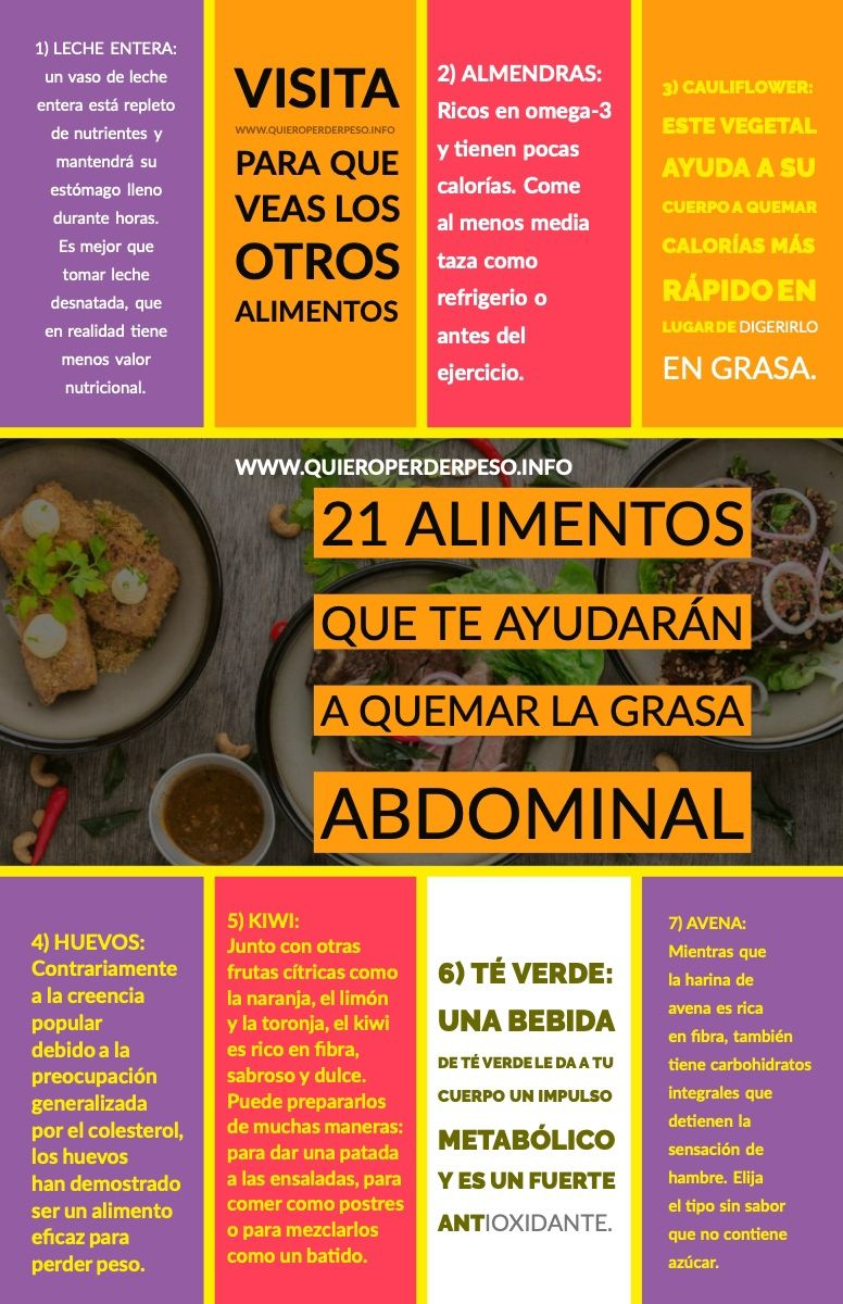 mejor dieta para grasa visceral