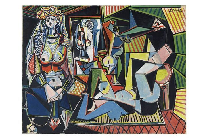 """""""Picasso Painting Fetches $179 Million in Auction""""  """"'Women of Algiers (Version O)' breaks record set two years ago by a Francis Bacon triptych"""""""