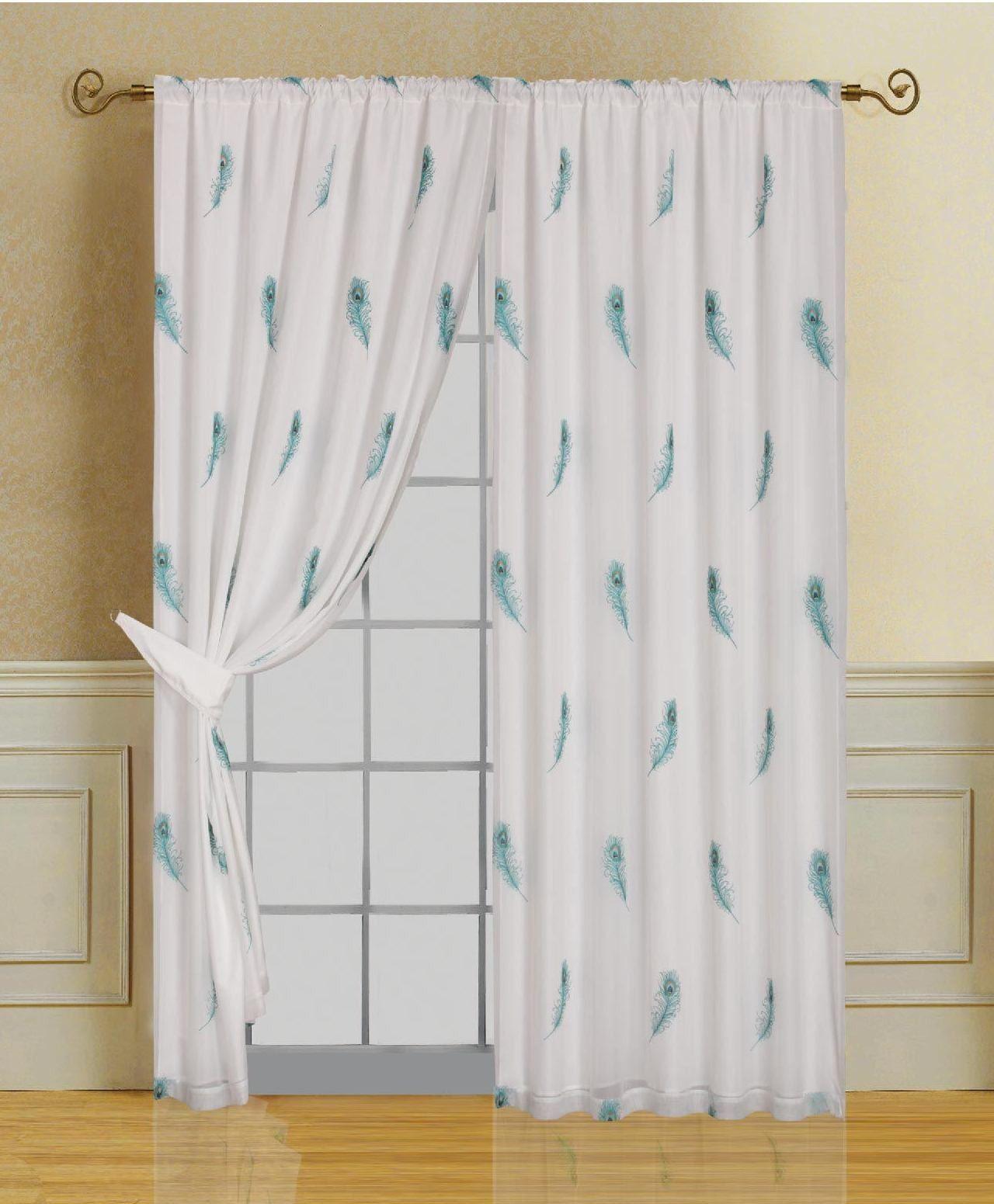 Peacock Blue Curtains Drapes Minimalist Home Design Pinterest