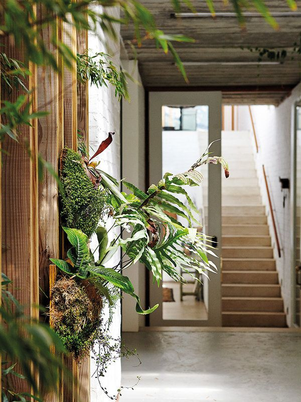 Una granja moderna natural life patio central granja for Color de pintura al aire libre casa moderna