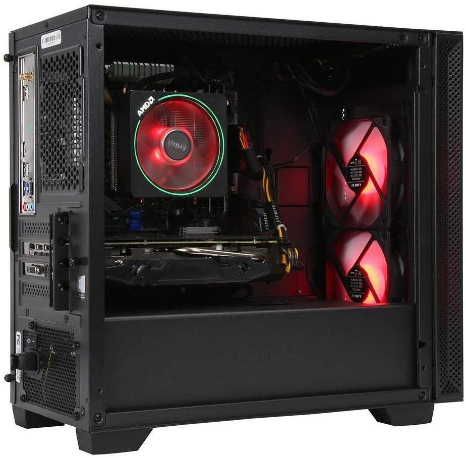 Powerspec Gaming Desktop Pc Amd Ryzen 7 2700x Processor 3 7ghz Amd Radeon In 2020 Gaming Desktop Desktop Computers Desktop Pc