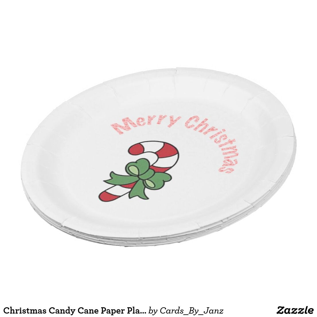 Christmas Candy Cane Paper Plates by Janz 9 inch  sc 1 st  Pinterest & Christmas Candy Cane Paper Plates by Janz 9 inch   ******GIFT GUIDE ...