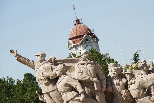 Das Mao Mausoleum ist, wie der Name schon verrät, die Ruhestätte des Mao Zedong.
