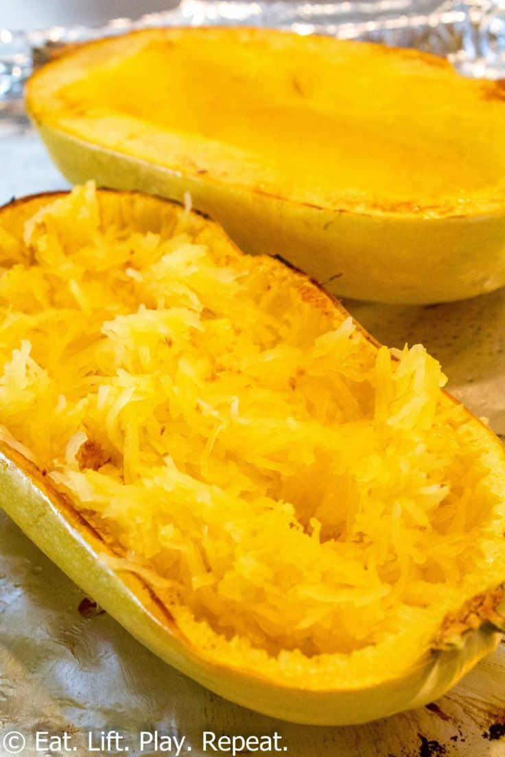 How to Cook Spaghetti Squash - Eat. Lift. Play. Repeat.