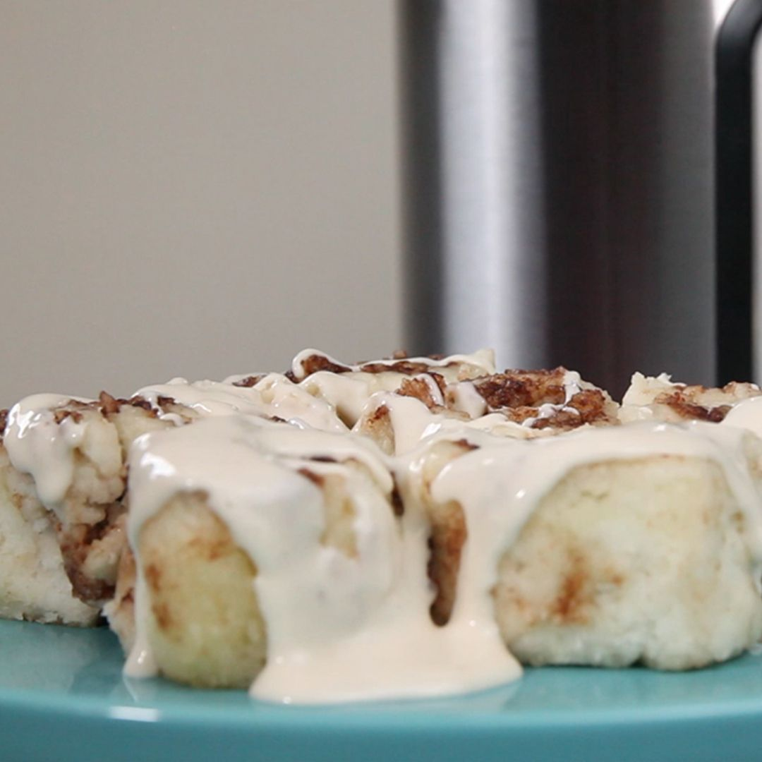 Fluffy Pancake Cinnamon Rolls - Instant Pot Recipes