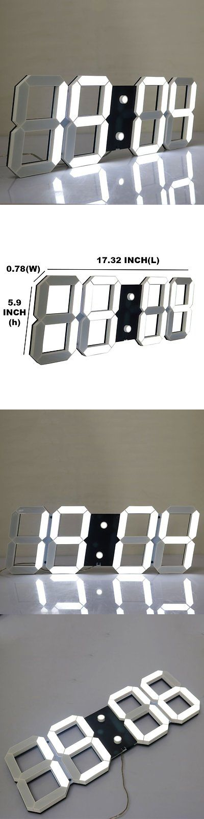 Alarm Clocks 79643 Chihai Silent Multifunctional Jumbo Led Digital