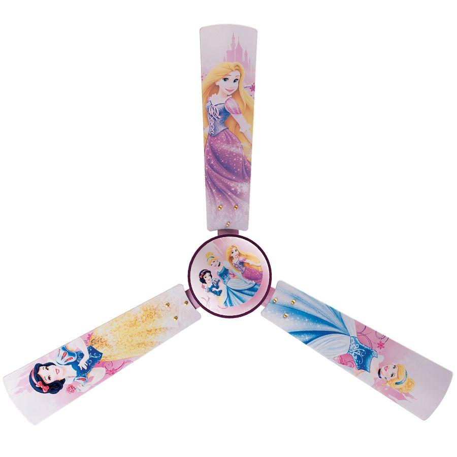 Home & Kitchen:bajaj Disney Cinderella Princess 72watt 3 Blade Ceiling Fan  (