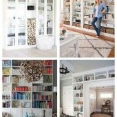 54 IKEA Billy Bookcase Hacks images