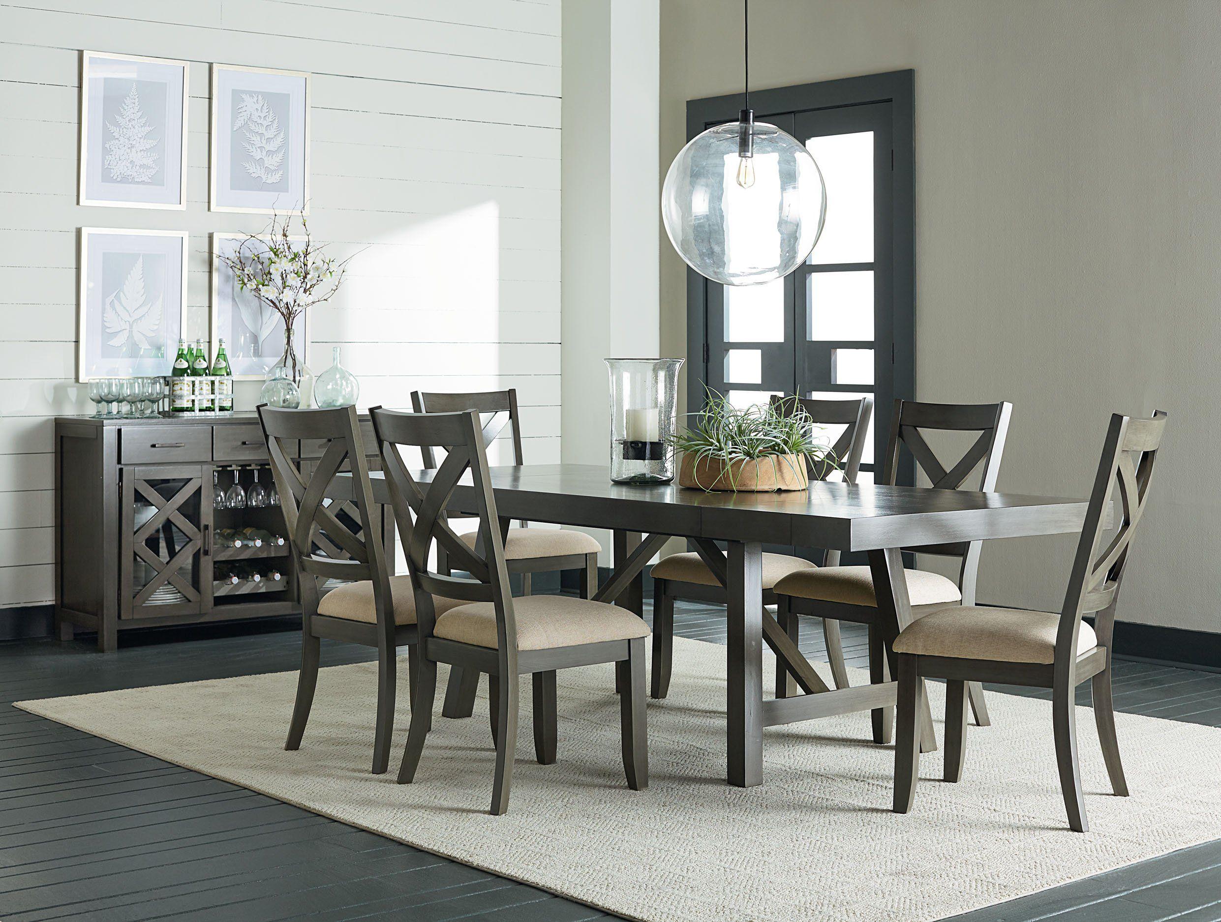 Omaha 9 Piece Dining Set   Kane's Furniture   Grey dining tables ...