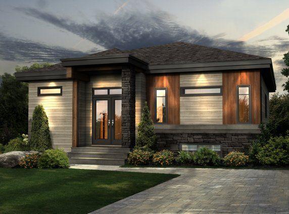 Cette jolie maison de plain-pied prend des allures champêtres grâce - maison avec toit en verre