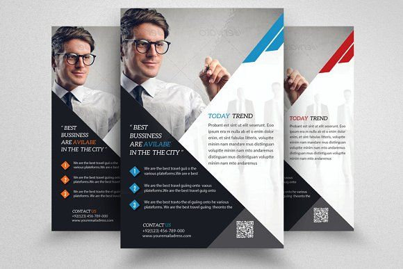 Business Training Flyer By Design Up On Creativemarket Flyer
