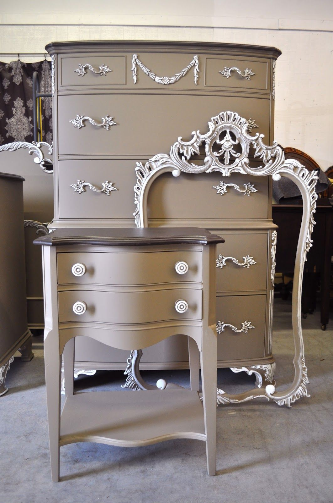 vintage charm and restoration custom painted furniture and rh pinterest ca