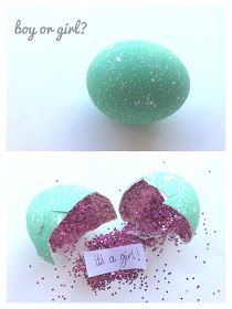 baby gender reveal idea--cute idea for the next time around