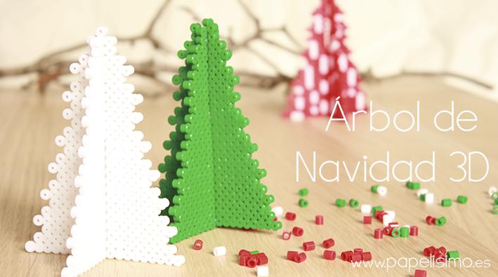 manualidades-faciles-para-ninos-patron-como-hacer-arbol-de-navidad ...