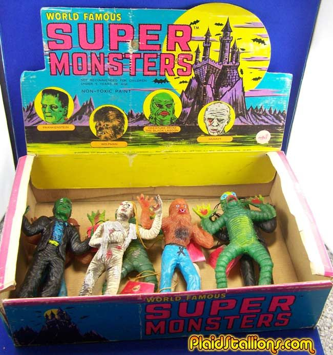 Super Monsters. | Classic Toys | Goosebumps toys, Classic ...