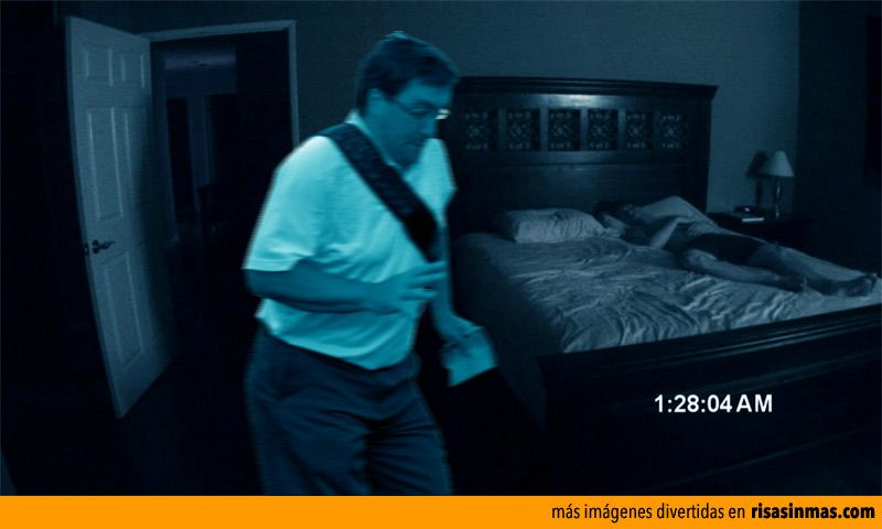 In The Way Guy aparecerá en Paranormal Activity 5.