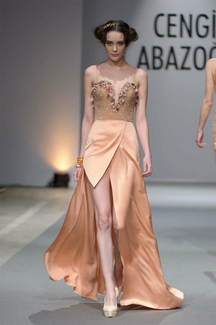 Turkish Fashion Designer Debuts Summer Collection at Paris Couture ...