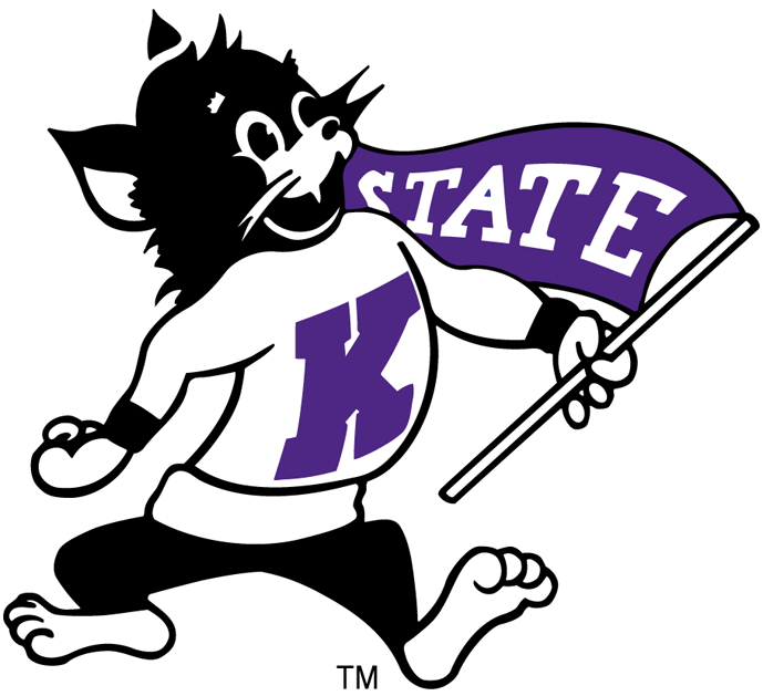 One Color One Size NCAA Kansas State Windshield Decal