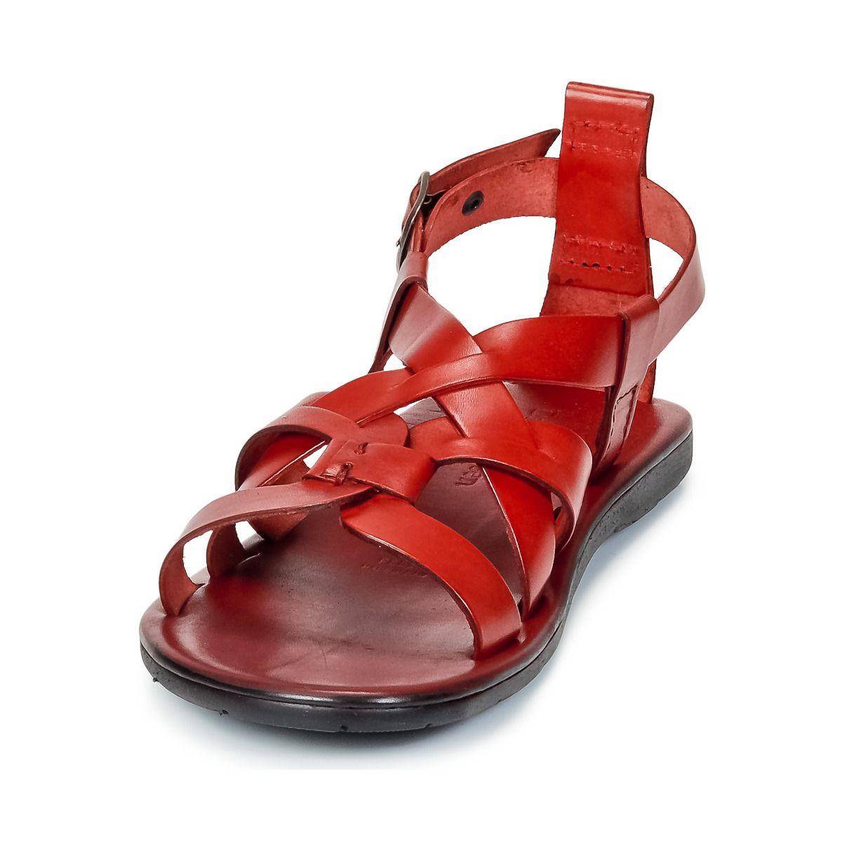 c602c382 Sandalias Dream in Green QUESELLE Rojo - Envío gratis en Spartoo.es ! -  Zapatos Hombre 70,00 €