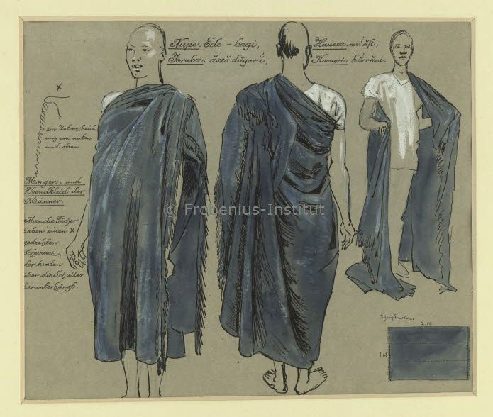 Yoruba Design Heritage Mens Wear Comprising An Undershirt And Wrapper African Culture African History African People