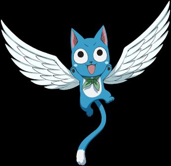 happy fairy tail - Buscar con Google | mascotas anime ...