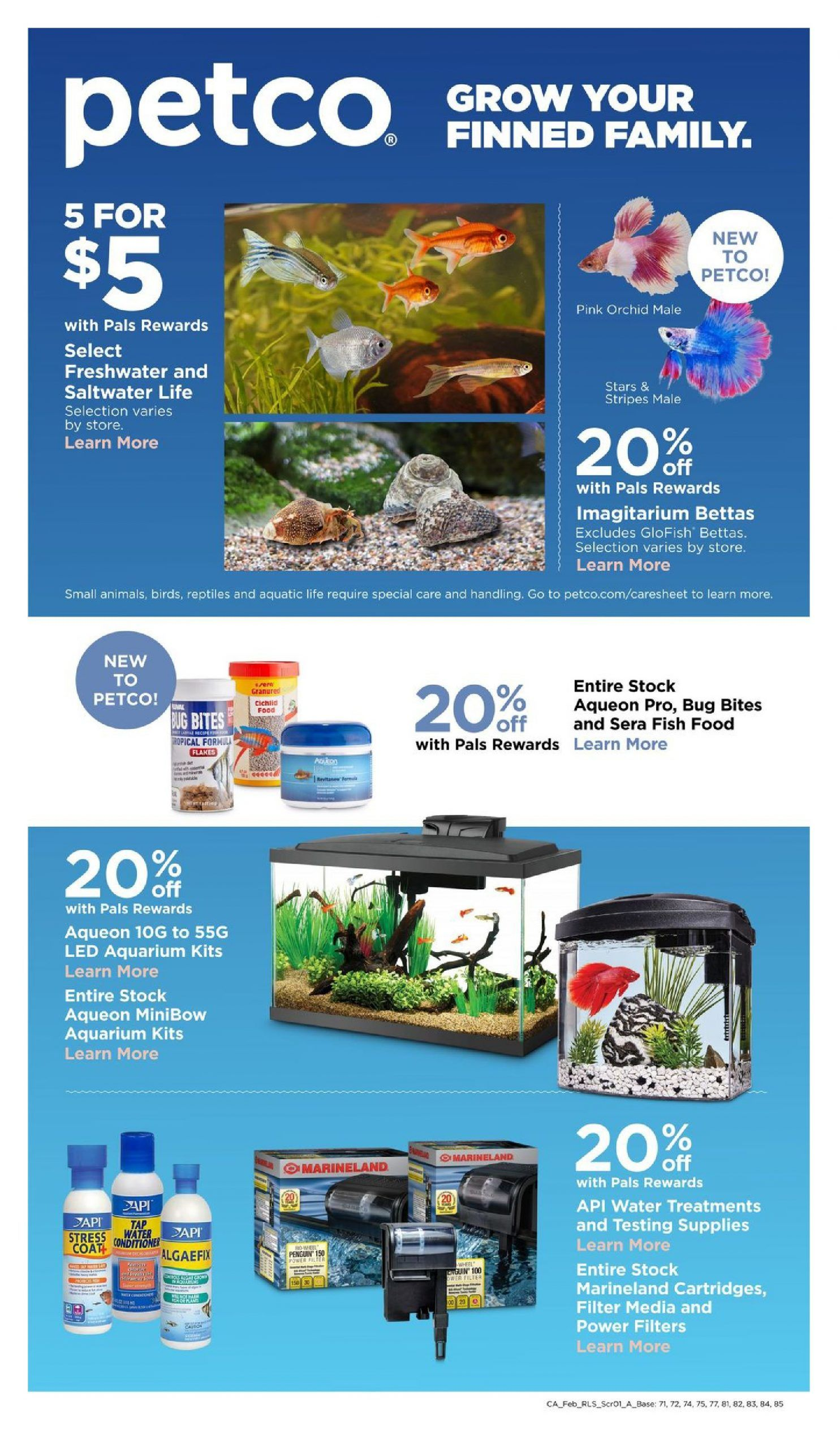 Petco Weekly Ad Valid Feb 02 Mar 07 2020 Di 2020