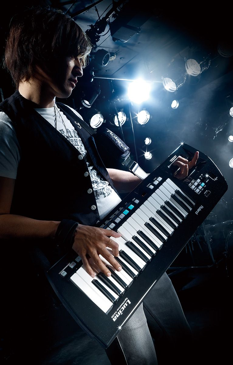 lucina ax 09 products roland keytar roland keyboard music mini keyboard. Black Bedroom Furniture Sets. Home Design Ideas