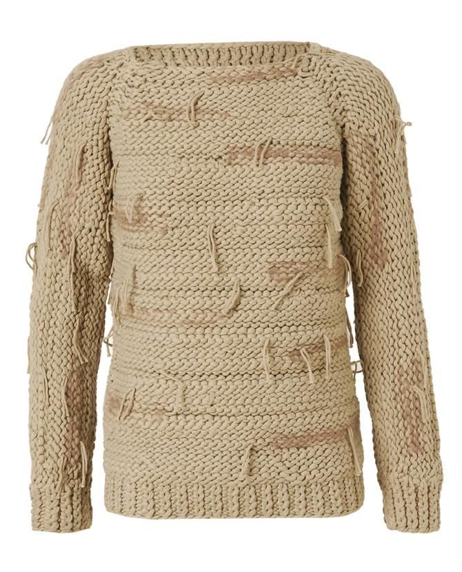Fringed Cotton and Mohair Knit Sweater by MAISON MARTIN MARGIELA at Browns Fashion for £770.00