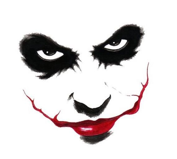 BUY 2 GET 1 FREE! Bad Joker 864 Modern  Cross Stitch Pattern Counted Cross Stitch Chart Needlepoint