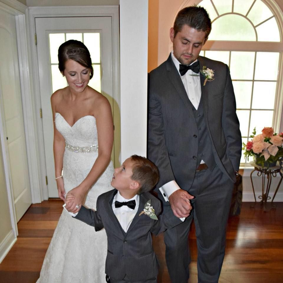 Simpson's Real Bride, Mrs. Ashley Minton, Wearing Allure