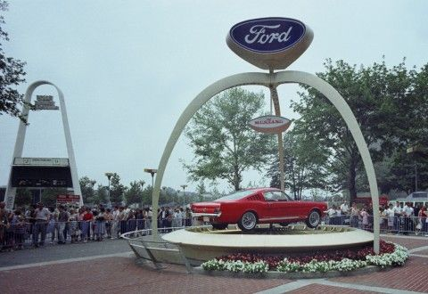 Ford Mustang introduced by Lee Iacocca at the 1964 World's Fair | Ford Media Center