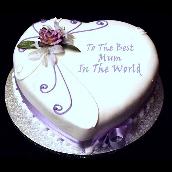 Mom S Day Cake Decorating Ideas With Images Birthday Cake For