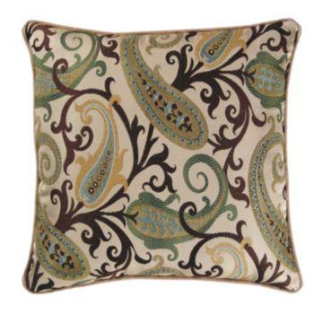 M Kennedy Home Grand Estate Decorative Pillow Pillows Pinterest Fascinating M Kennedy Home Grand Paisley Decorative Pillow