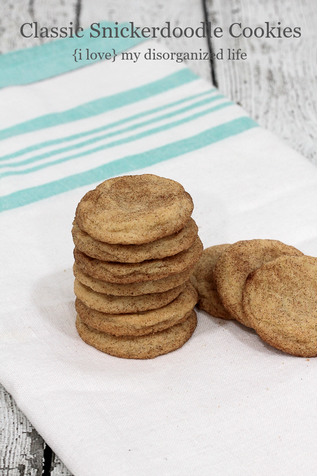 Classic Snickerdoodle Cookies | Rezept | Christmas Cookie Recipes ...