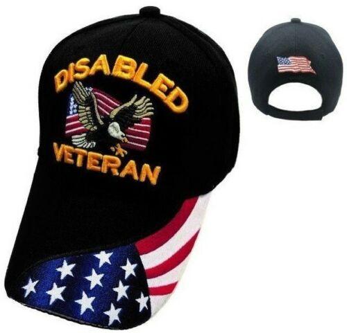 Disabled Veteran Hat Ballcap Cap Eagle Usa Flag Army Marine Navy Air Force Ebay Veteran Hats Navy Air Force Ball Cap