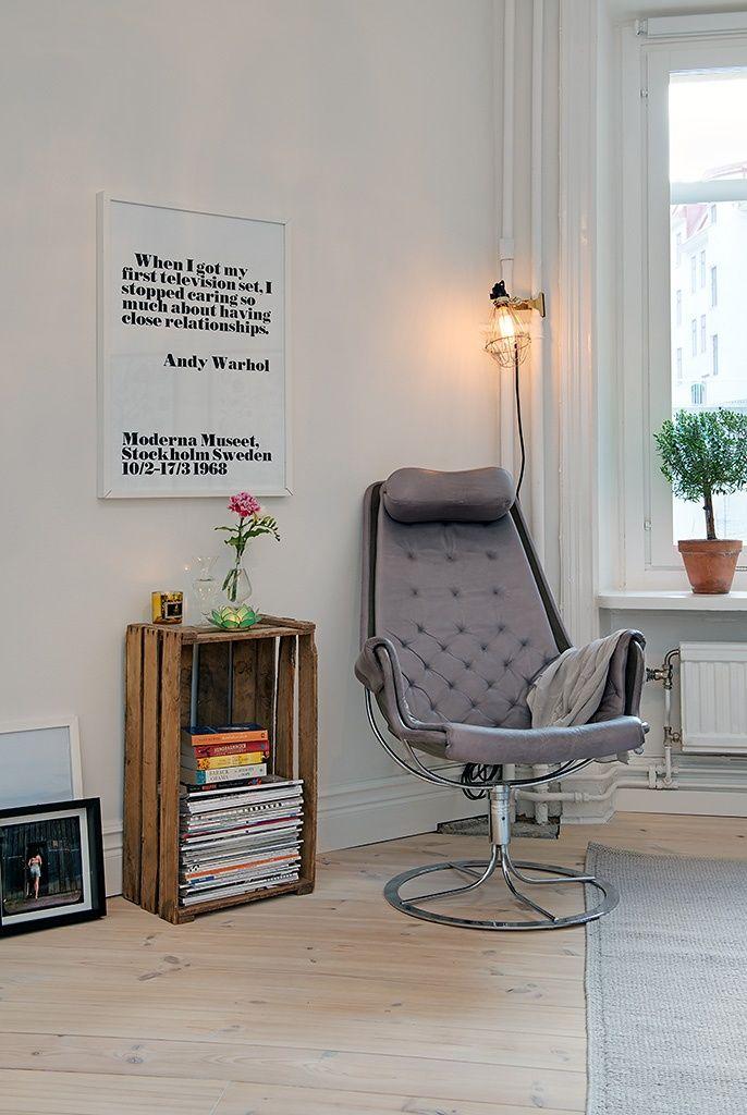 Tu rincón de lectura u2013 Visioninteriorista Rinconcitos Pinterest - rincon de lectura