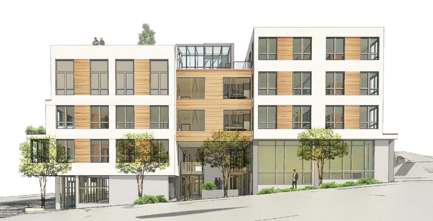 Bellevue Based Run Yong Investment Hired Miller Hull To Design This 76 Unit Complex For The Site Which Has Been Sold Urban Housing Apartment Building Property