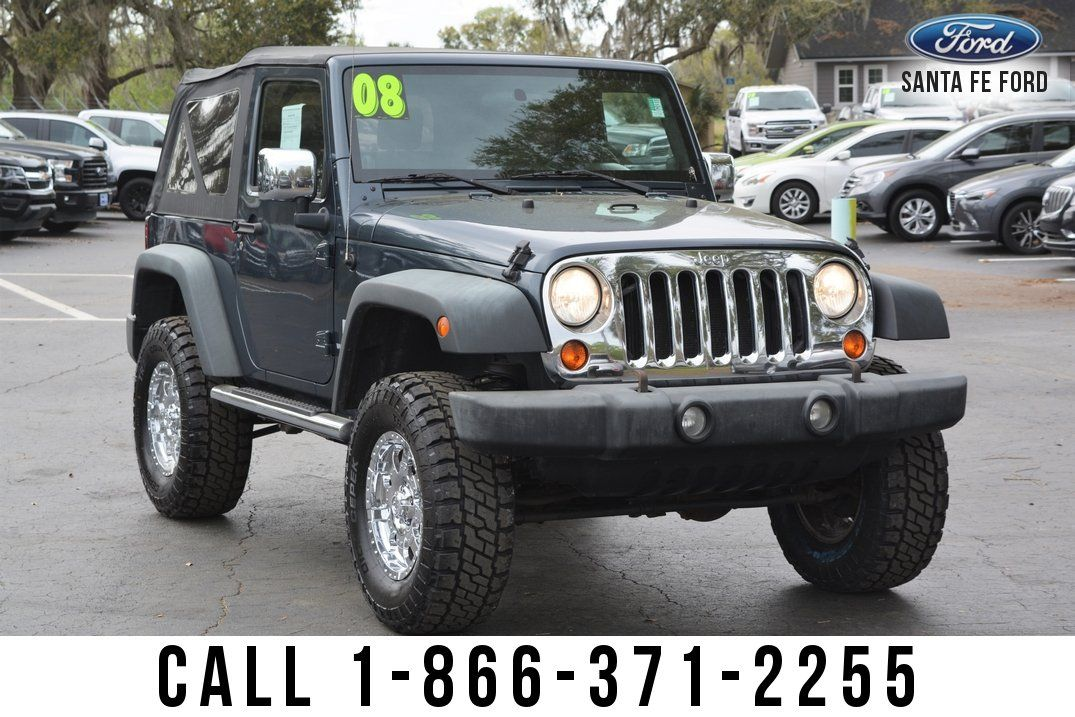 Used 2008 Jeep Wrangler X Suv For Sale Gainesville Fl 40134q In