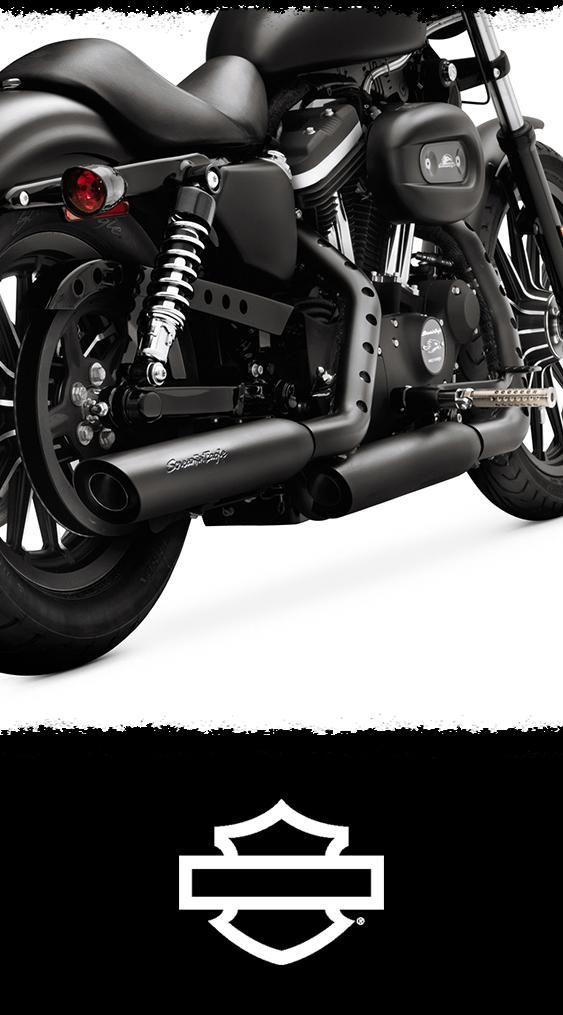 Screamin  Eagle Street Performance Sportster Shorty Dual Mufflers  3c63b393934a0