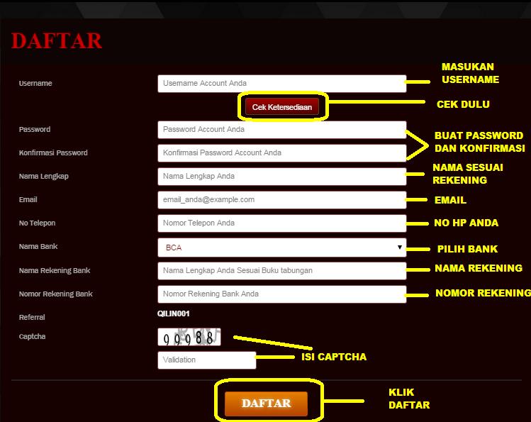 DAFTAR POKER ONLINE TERPERCAYA QILINPOKER.COM Untuk