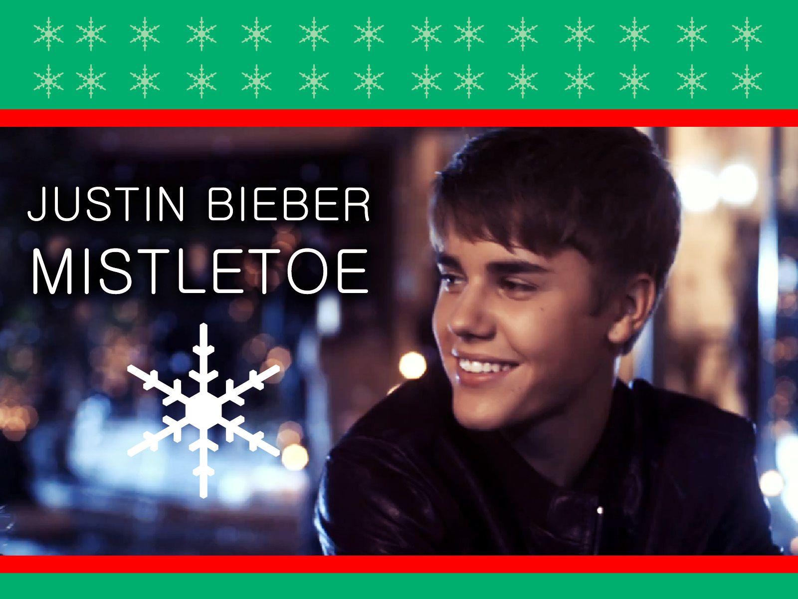 Mistletoe by Justin Bieber Early Christmas Promo - Kenalsworld ...